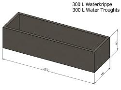 300L Water Krippe